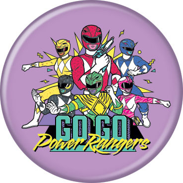 Power Rangers - Go Go Rangers Button