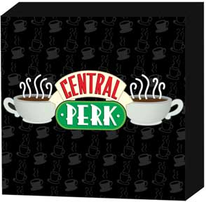 Friends - Central Perk 6x6 Wall Sign