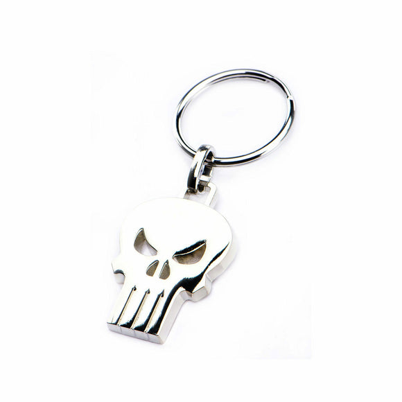 Punisher Skull Keychain
