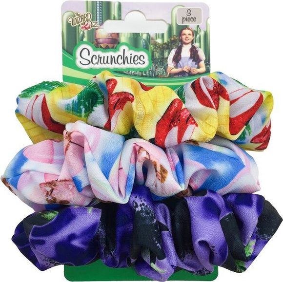 Wizard of Oz 3pk Scrunchies
