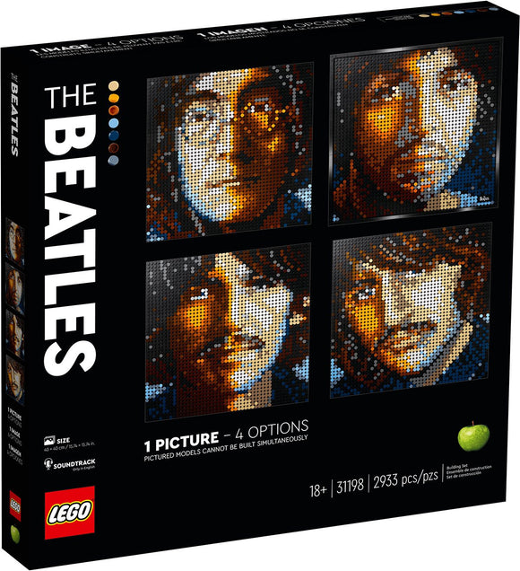 Lego Art - The Beatles