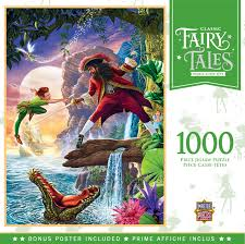 Fairy Tales - Peter Pan 1000pc Puzzle