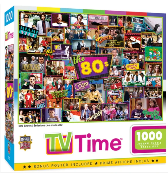 1980's TV Shows 1000pc Puzzle