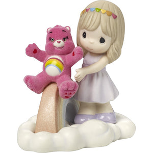 "CARE BEARS ""You Fill My Heart With Cheer"" PRECIOUS MOMENTS"