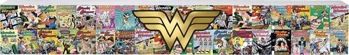 Wonder Woman Comics Long Wood Sign