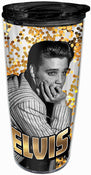 Elvis Glitter Travel Mug