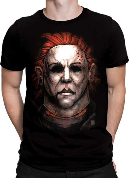 Halloween - Michael Myers Black Tee