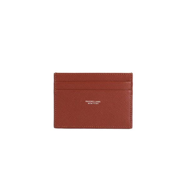 Cardholder Gold Brown