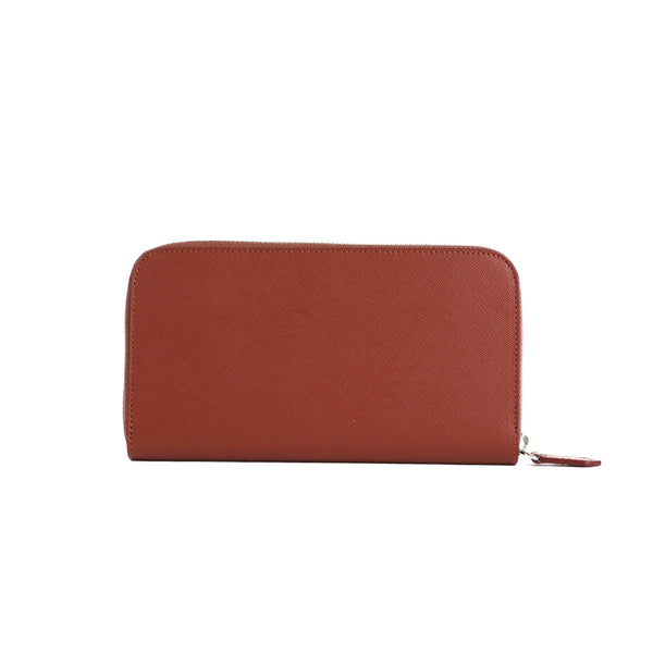 Zipwallet - Gold Brown