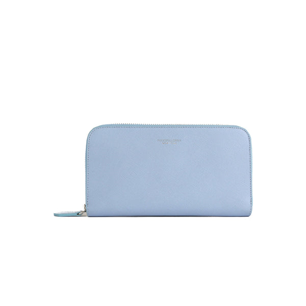 Zipwallet -  Light Blue