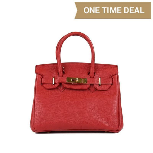 "Caty Gold 10"" - Red"