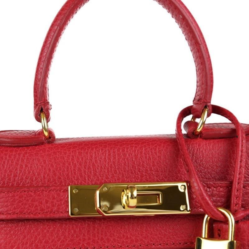 "Eva Gold 8"" - Red"