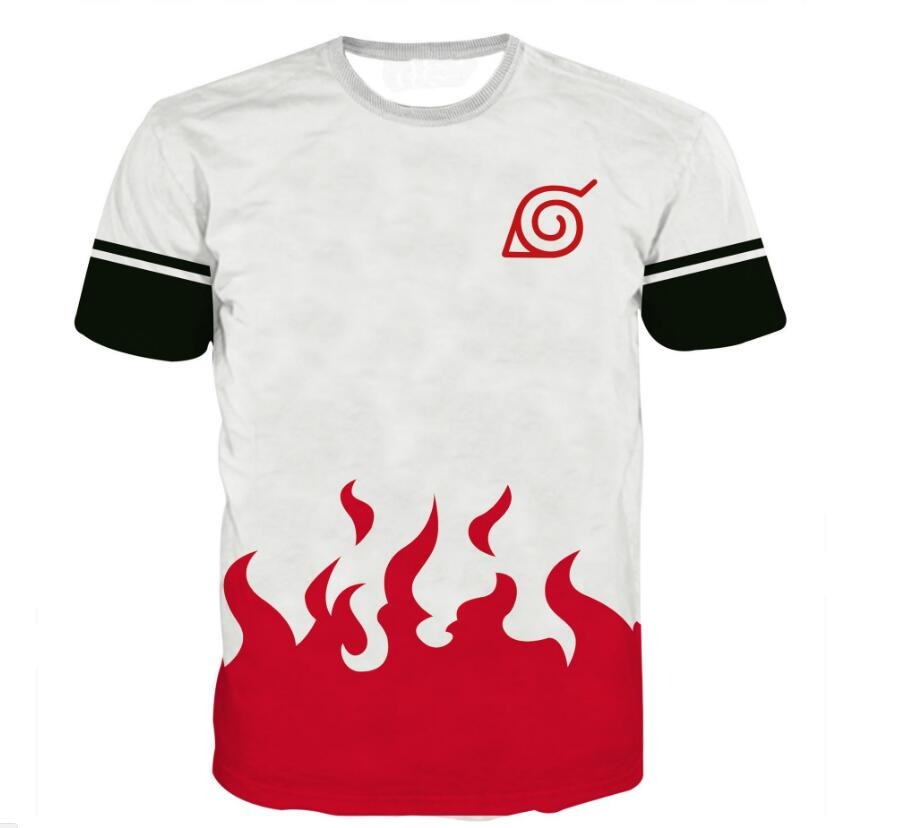 Naruto All Over Jutsu T-shirts