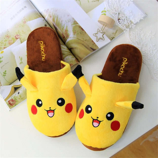 Pikachu Slipper and Eye Mask Set