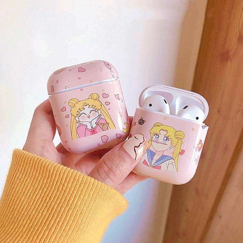 Sailor Moon- Pink Airpods Case (2 styles)