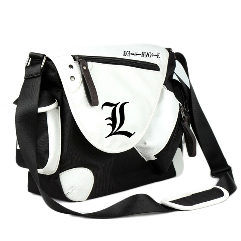 Death Note anime messenger bag