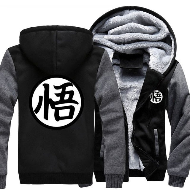 Luxurious Dragon Ball Hooded jacket