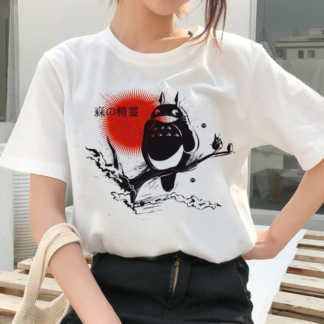 Artistic Totoro and friends Tshirt
