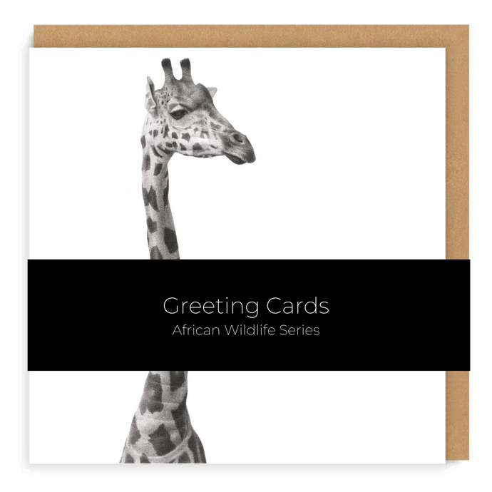 African Wildlife Set - Greeting Cards