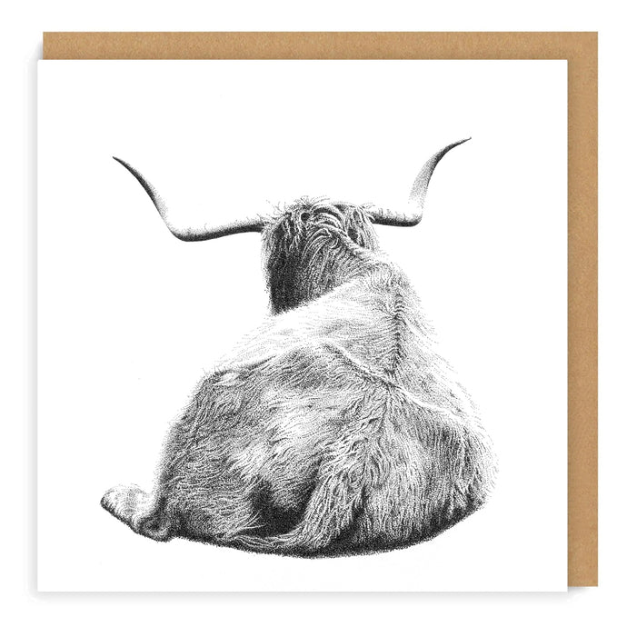 Healin' Coo - Greeting Card