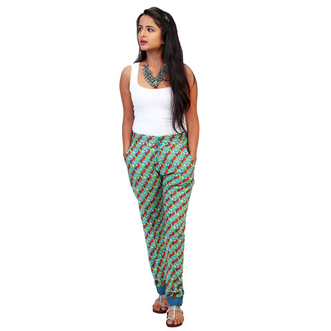 printed-cotton-pants-for-kurtis-online-India