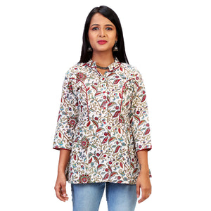 fabindia type floral tops for women