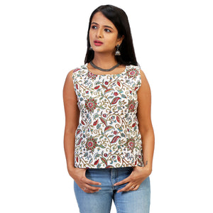 casual summer cotton tops for women