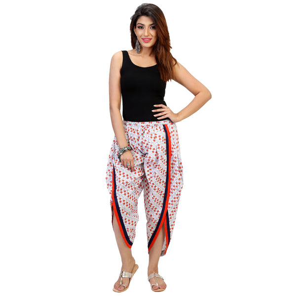 stylish dhoti pants in cotton for women