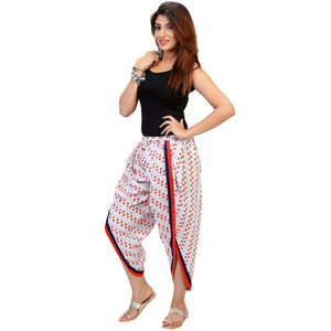colourful dhoti pants for women