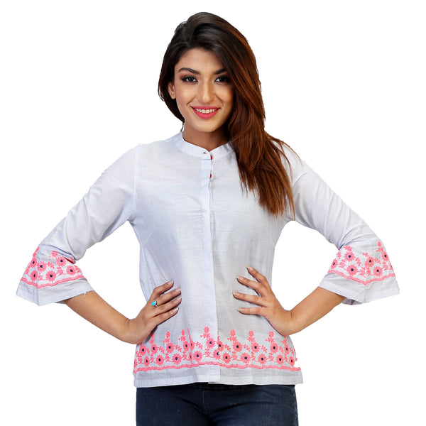 embroidered women shirts online