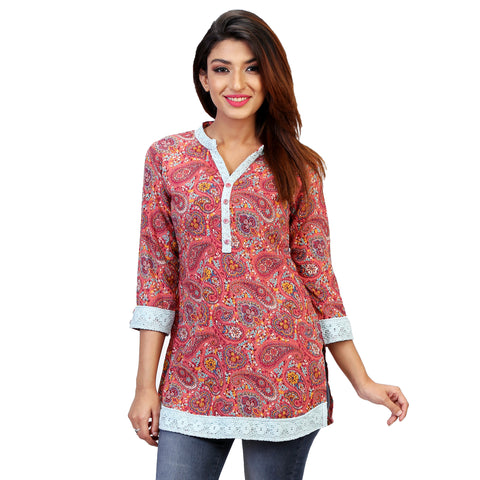 summer short kurta online for women