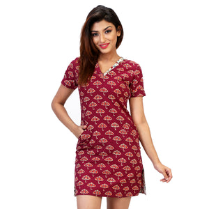 casual-dress-in-block-print-online