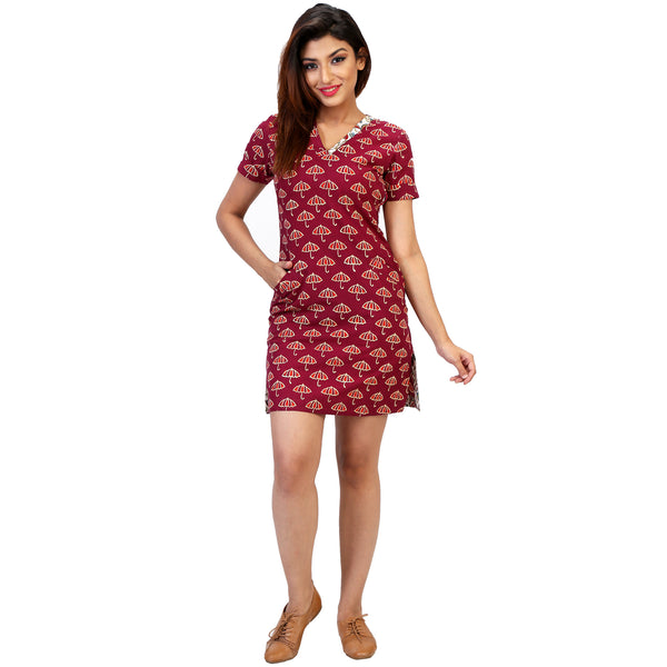 casual-cotton-knee-length-dress-online