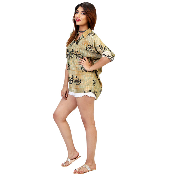 relaxed- fit- oversized-shirt -for-women-online-india