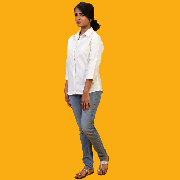plain-white-office-shirt-women