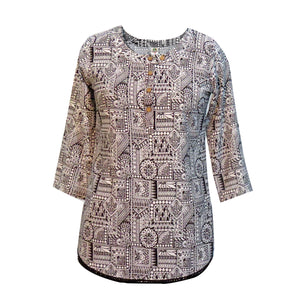 Indie Folk Kurta Top