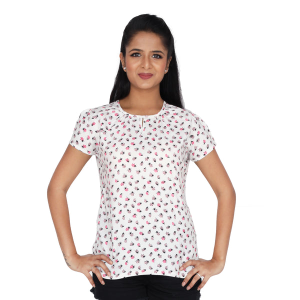 Lady Bird Print Top
