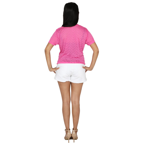 trendy-pink-colour-top-for-girls