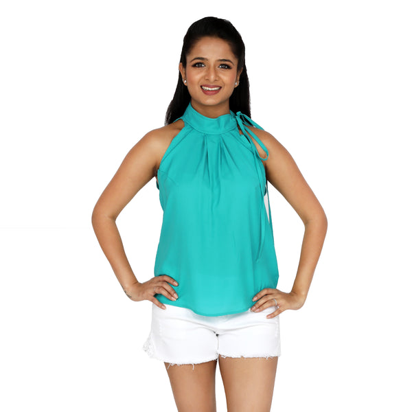 halter-neck-partywear-top-for-women-online