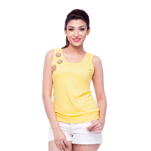 yellow-tank-top-for-women-online