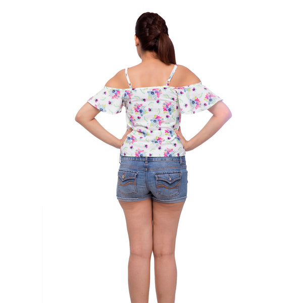 floral-partywear-top-for-ladies