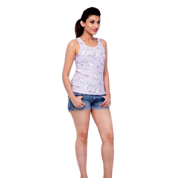 printed-cotton-tank-top-for-ladies
