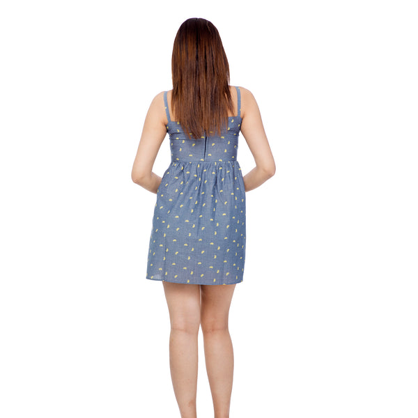 Chambray Summer Vibe Dress