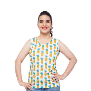 women's-tank-top-in-pineapple-print