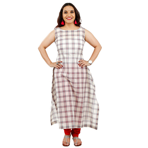 long-sleeveless-cotton-kurta-online
