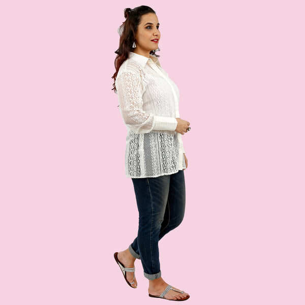 white-sheer-net-shirt-for-ladies-online