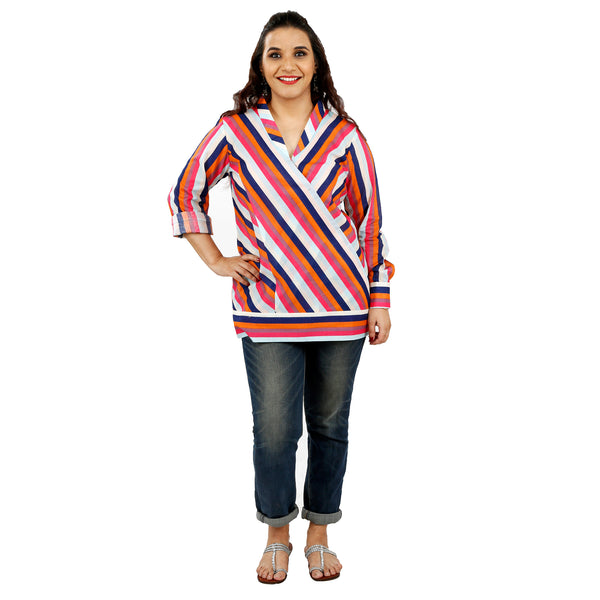 Rainbow Long Top