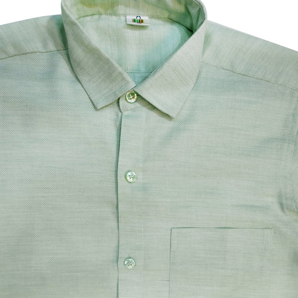 Powder Green Men's Shirt