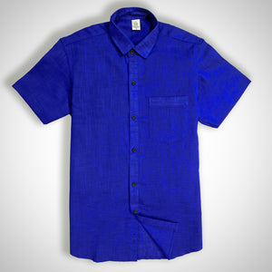 Cobalt Blue Men's Shirt
