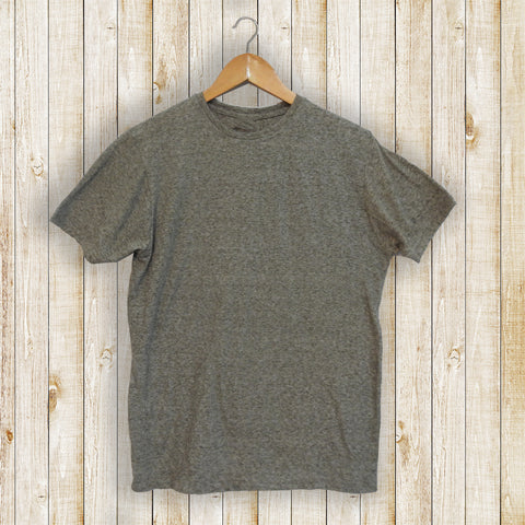 Textured Grey Men's T-shirt